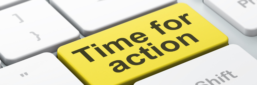 Time for action blog content